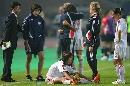图文:[世界杯]中国0-1挪威 韩端泣不成声
