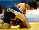 图文:摔跤世锦赛女子自由67kg 景瑞雪在决赛中