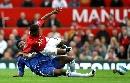 图文;[英超]曼联2-0切尔西 这一脚米克尔染红