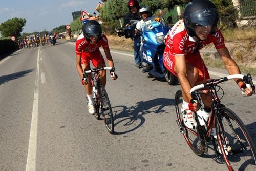 图文:[自行车]环西赛第21赛段 终点就在眼前
