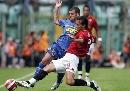 图文:意甲罗马2-2尤文 阿奎拉尼铲断诺切里诺