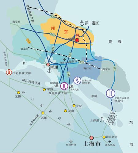 因新兴深水海港洋口港而在中国东部沿海迅速崛起的江苏省如东县,再次