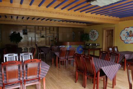 中国式酒店餐厅手绘