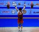 图文:世锦赛女子69公斤级 刘春红挺举首把成功
