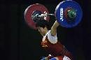 图文:世锦赛女子69公斤级 刘春红挺举屈居亚军