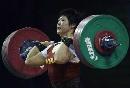 图文:世锦赛女子69kg 刘春红挺举155公斤失利