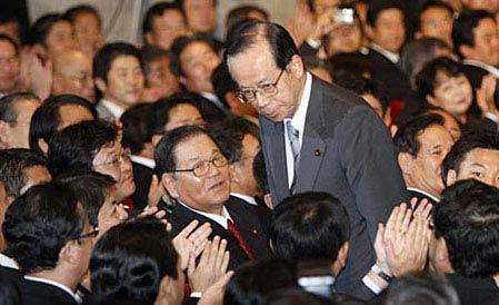 福田康夫今日有望当选首相