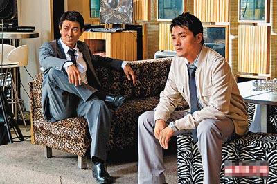 刘德华算是林家栋经理人,二人又经常合作,默契十足。