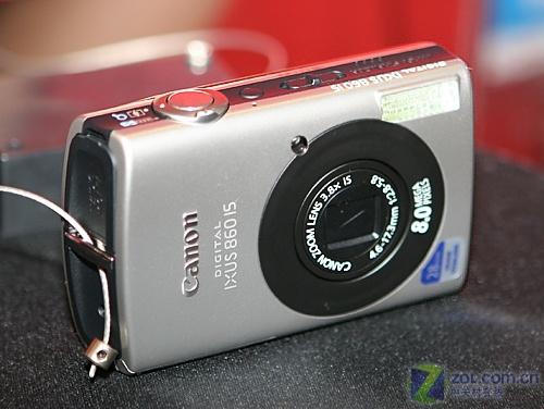 广角/防抖 佳能卡片机IXUS 860 IS上市
