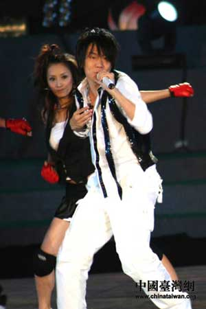 林俊杰劲歌热舞