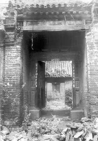 安阳市有多少人口-安阳渔洋村古建筑损毁严重 当地无力保护-河南安阳古村落建筑损毁严