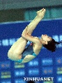 图文:跳水全国锦标赛 郭晶晶获女子3米板冠军