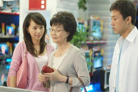 以家庭中敏感的婆媳关系为主题展开的电视剧《麻辣婆媳》2006年在央视