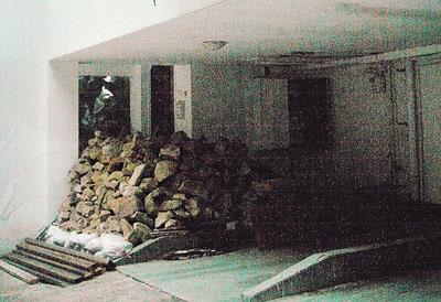 郭台铭发表爱的宣言后,刘嘉玲新居装修忽然停工,门外堆满瓦片杂物