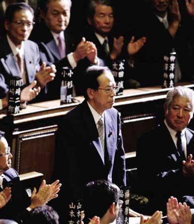 首相:福田康夫(71岁)