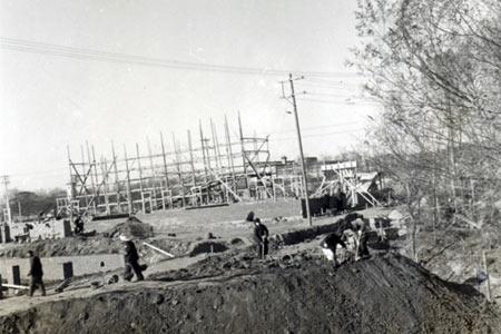 1955年10月24日北京天文馆正式动工