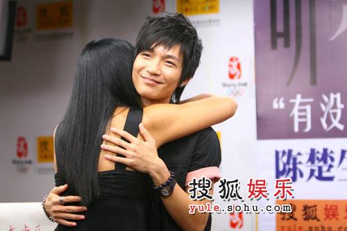 杨二老师熊抱楚生