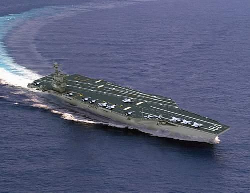 """美国海军""""杰拉尔德-R-福特""""号航母效果"""