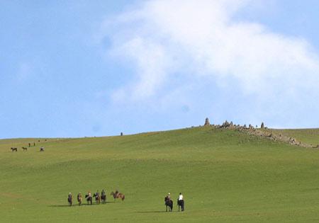 内蒙古阿拉善黄金周期待游客探秘[组图]
