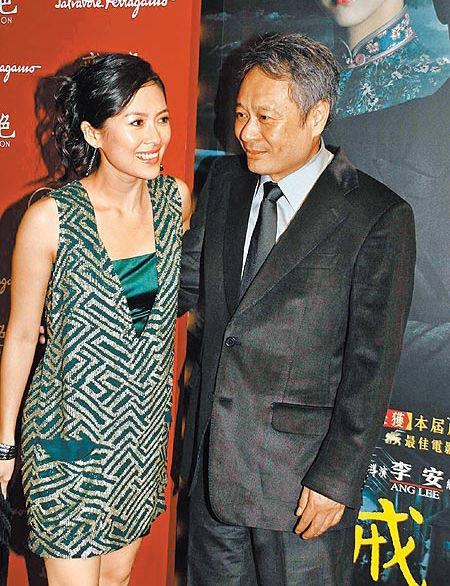 章子怡奔赴香港捧场李安《色,戒》香港首映礼