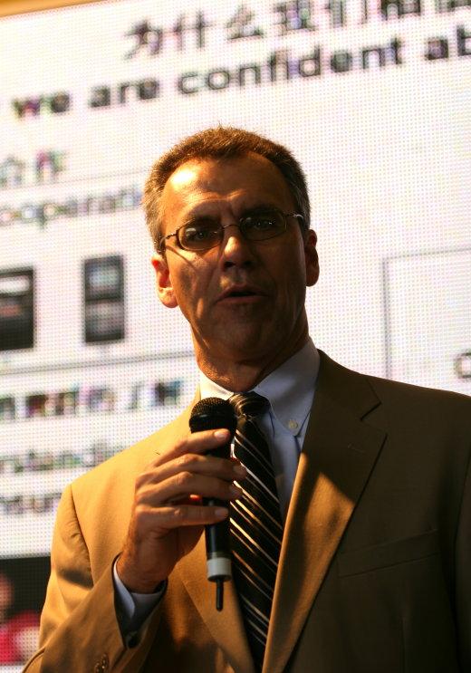 柯达副总裁零售打印事业部总经理柯博睿先生