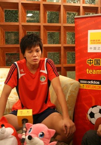 中国女足唯一候选人李洁