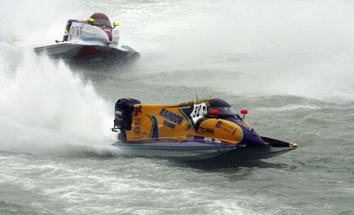 图文:[摩托艇]2007赛季回顾 给对手制造水雾