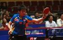 图文:女乒世界杯郭跃4-0吴雪 郭跃反手回球