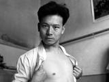 李振盛年轻时候的自拍照