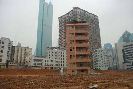 资料图:香港业主蔡珠祥家的孤楼