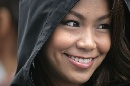 图文:[F1]日本大奖赛美女 美丽的微笑