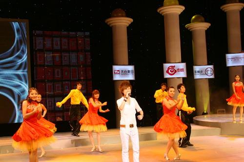 图:奥运群英会开幕式 李宇春演唱《KU LA LA》