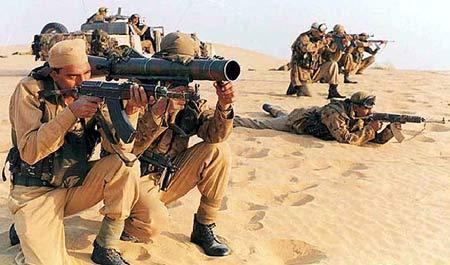 印度特种部队士兵 [资料图片]