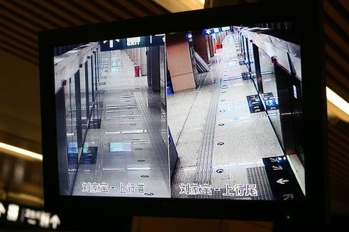 北京地铁5号线设有两个派出所  站内探头信息实时监控