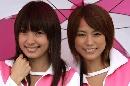 图文:[F1]日本大奖赛美女 谁的笑容更美?