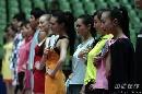 图文:女乒世界杯裙装展示 各式各样的球裙