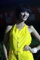 图文:女乒世界杯裙装展示 模特貌美如花