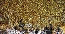 图文:[世界杯]德国2-0巴西成功卫冕 金色的天空