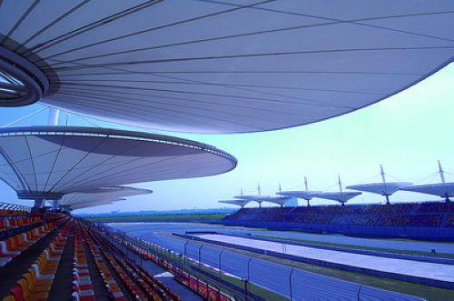 图文:[F1]上海国际赛车场欣赏 H看台左侧