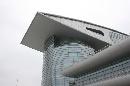 图文:[F1]上海国际赛车场欣赏 仰视上赛场建筑