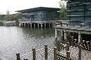 图文:[F1]上海国际赛车场欣赏 池塘边的小码头