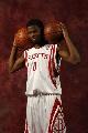 图文:[NBA]火箭媒体日亮相 阿龙-布鲁克斯
