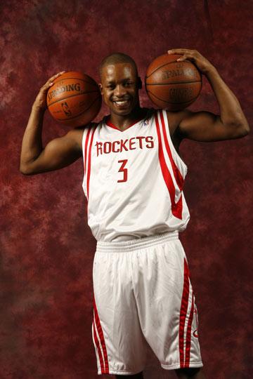 图文:[NBA]火箭媒体日了亮相 弗朗西斯