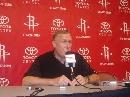 图文:[NBA]火箭媒体日亮相 主教练阿德尔曼发言