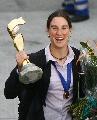 图文:[世界杯]德国女足凯旋 普林茨机场留影