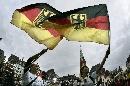 图文:[世界杯]德国女足凯旋 德国球迷兴奋
