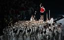 图文:世界夏季特奥会开幕式 开幕式的表演