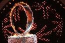 图文:世界夏季特奥会开幕式 主火炬缓缓升起