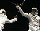 图文:男佩斯坦尼斯拉夫夺冠 剑客的决斗