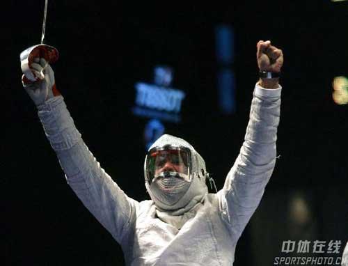 图文:男佩斯坦尼斯拉夫夺冠 最后的胜利者